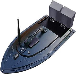 屋外の 釣り餌船 自動魚群探知機 戦闘船 リモコン 給餌船 賢い 非常に長い距離 強い力、 二重モーター、 ミュート(黒)