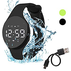 Hootracker Pulsera Actividad Impermeable IP68 Fitness Smartwatch Tracker