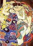 YsKYCp Puzzle 1000 Piezas, Gran Juego De Rompecabezas, Rompecabezas De Juguete Y Regalos De Desafío La Virgen por Gustav Klimt (50Cm * 75Cm)