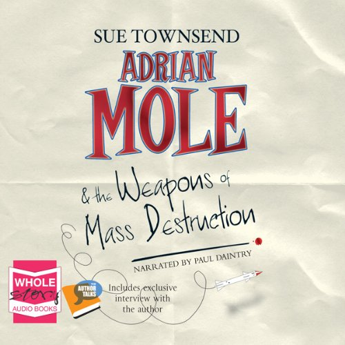 Adrian Mole and the Weapons of Mass Destruction cover art