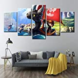 BailongXiao Wie Man Kinder Drachen Poster Cartoon modulare