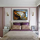 Salvador Dali's Memory Canvas Wall Art Print Poster Abstract clock decoration painting 60x90 CM (sin marco)
