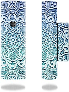 MightySkins Skin Compatible with Ploom Pax 2 Vaporizer - Carved Blue   Protective, Durable, and Unique Vinyl Decal wrap Cover   Easy to Apply, Remove, and Change Styles   Made in The USA