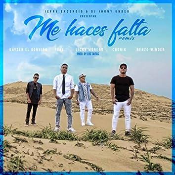 Me Haces Falta (Remix) [feat. Licky Moreno, Cronik & Renzo Winder]