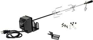 """onlyfire Universal Rotisserie Kit 32""""- 42"""" x 5/16"""" Square Spit Rod for Use with 2 to 4 Burners Gas Grill"""