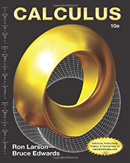 Calculus (Not Textbook, Access Code Only) By Ron Larson and Bruce H. Edwards 10th Edition