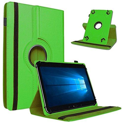 Nauci Odys Wintab Ares 9 Hülle Tablet Tasche Schutzhülle Universal Hülle Schutz Cover Bag, Farben:Grün