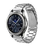 Simpeak Correa Compatible con Samsung Gear S3 Reloj, Correa Compatible para Samsung Galaxy 46mm/Gear...