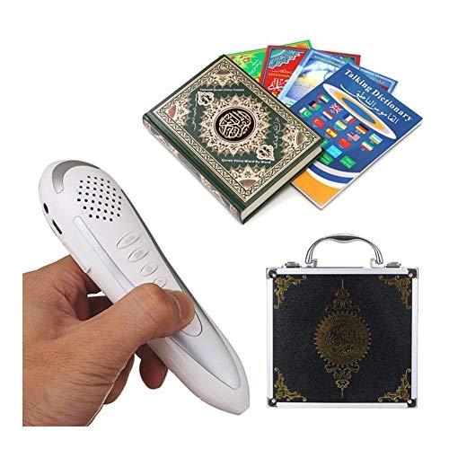 Sucastle Digital Quran Pen Reader 8GB Metal Box Ramadan Geschenk for Muslime mit 6 Bücher