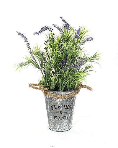 Decoline Kunstpflanze Lavendel mit Topf