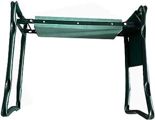 DSISI Foldable Portable Stool, Garden Kneeler Seat with Tool Pouch and EVA Foam Pad 250lb Capacity Kneepad Work Garden Ben...