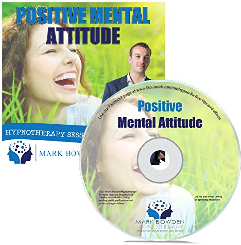 Positive Mental Attitude Self Hypnosis CD / MP3 and APP (3 IN 1 PURCHASE!) - Hypnotherapy CD to Overcome Automatic Negative Thoughts and for a More Optimistic State of Mind