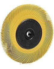 Scotch-Brite Radial (TM) cepillo de cerdas, óxido de aluminio, 6000RPM, diámetro 6x 7/16de ancho, 1micra (Pack de 1)