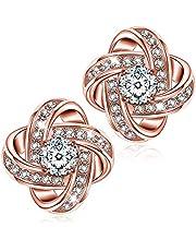 Alex Perry Regalo orecchini di zirconi cubici oro rosa argento 925 regali per lei gioielli donna regali natale compleanno per le donne ragazze amica mamma lei
