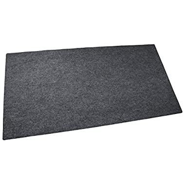Drymate Gas Grill Mat, Premium BBQ Grill Mat - 30  x 58  - Size Extra Large Grill Pad - Contains Grill Splatter and (Protects Surface)