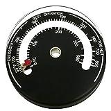 Guilty Gadgets - Termometro magnetico per stufa a legna