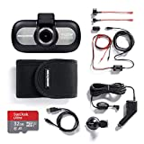 Nextbase 412GW 1440p HD In-Car Dash Camera Video Recorder with WiFi and GPS, Bundle Kit with Mount, Hardwire Kit, 32GB SD Card and Case