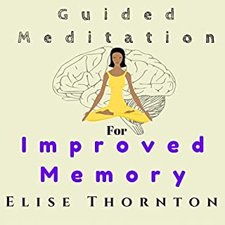 Guided Meditation for Improved Memory audiobook cover art