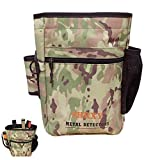 shrxy Garden Metal Detecting Finds Bag Detector Pouch Multi-Purpose Digger Tools Bag Waist Pack (camo) -