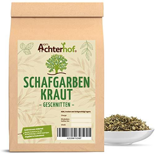 100 g Schafgarbenkraut geschnitten Schafgarbenkrauttee Scharfgabe Kräutertee natürlich vom-Achterhof