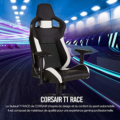 T1 Race - Fauteuil Gaming de Bureau...