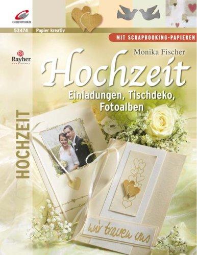 Hochzeit. Einladungen, Tischdeko, Fotoalben - scrapbooking-Papieren