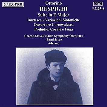 Respighi: Suite in E Major / Burlesca