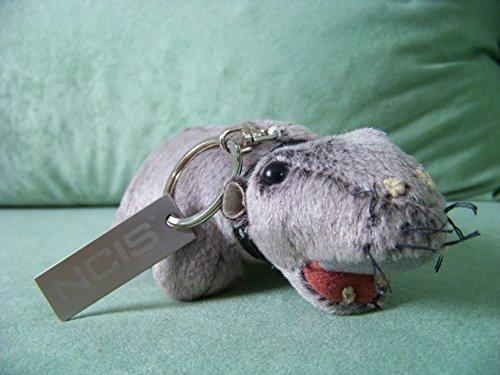 Navy CIS furzendes Nilpferd Bert , Abby `s farting Hippo , Schlüssel-Anhänger - OHNE SOUND + eine kleine Überraschung , Originales offizielles Merchandise aus den USA , NCIS