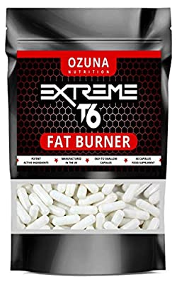 Fat Burners Keto Extreme T6 Fast Weight Loss Pills Diet Slimming | 60 Capsules