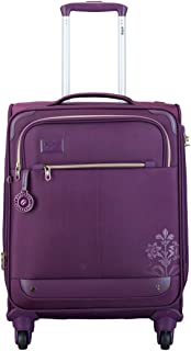 VIP Polyester 56 cms Purple Softsided Cabin Luggage (Legacy)
