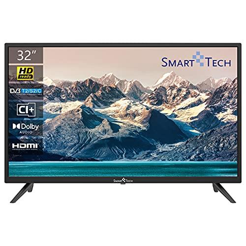 "Smart Tech TV LED HD-Ready 32"" (80 cm) HDMI USB DVB-T2/C/S2 Dolby Audio"