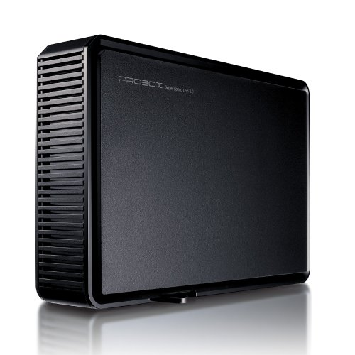 Mediasonic ProBox K32-SU3 3.5' SATA Hard Drive Enclosure - USB 3.0 SuperSpeed, Optimized for UASP & SATA 3 6.0Gbps hard drive transfer rate