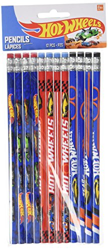 Hot Wheels Wild Racer Pencils, Party Favor