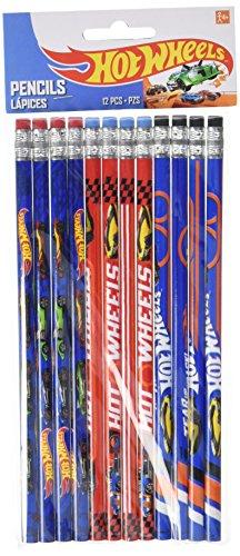 Hot Wheels Wild Racer Pencils, Party Favor