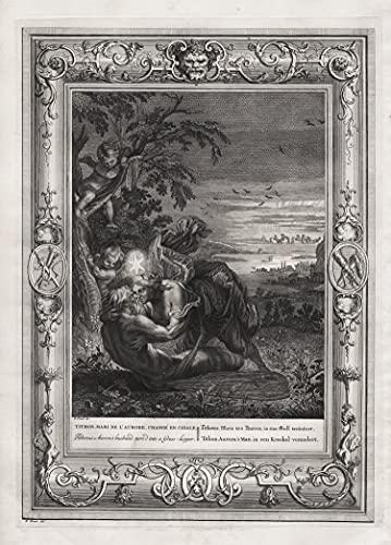 Tithonus Mann von Aurora in eine Grill verändert - Tithonus Aurora grasshopper Grille Greek Tithonos Mythologie mythology