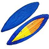 BGSFF Cubierta de Almacenamiento para Kayak, Cubierta Universal para Bote Kayak, Canoa, Bote, Impermeable, Resistente a los Rayos UV, Cubierta de Almacenamiento de Polvo, Protector, 2M-6