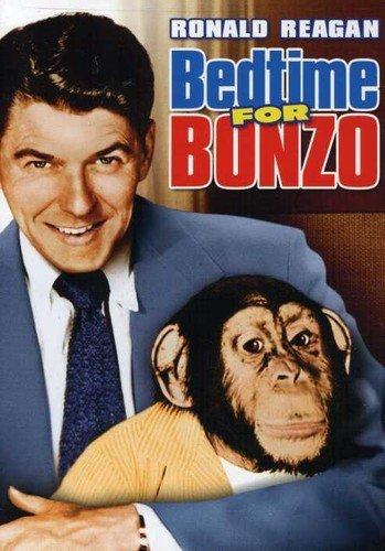 Amazon.com: Bedtime for Bonzo [DVD] : Ronald Reagan, Diana Lynn, Walter  Slezak, Lucille Barkley, Jesse White, Herbert Heyes, Herbert Vigran, Harry  Tyler, Frederick De Cordova, Michael 'Michel' Kraike, Val Burton, Lou  Breslow: