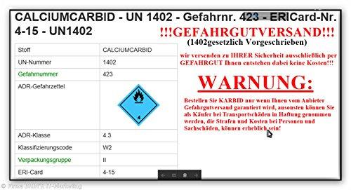 bri'X24T'you® Karbid 0.500KG+Handschuhe(1x) Premium KARBID (1A.Ql.Rg.187319)*Alt Bewährt und sehr Ergiebig (0.500KG) - 7