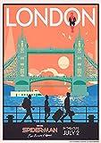 IFUNEW Der Kunstdruck Stadtlandschaft London Wall Art