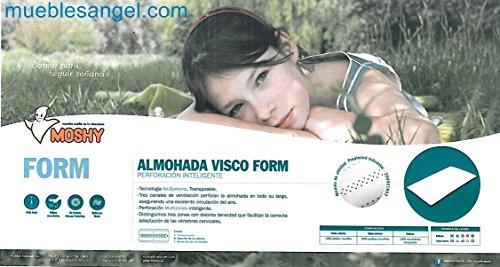 Almohada Moshy Visco Form almohada de 75cms.