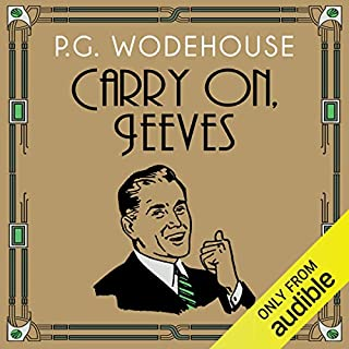 Carry On, Jeeves                   By:                                                                                                                                 P. G. Wodehouse                               Narrated by:                                                                                                                                 Jonathan Cecil                      Length: 7 hrs and 3 mins     621 ratings     Overall 4.7