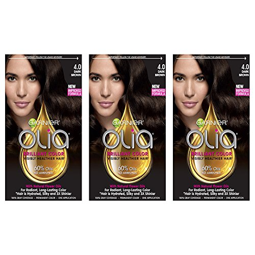 GarnierHairColorOliaOil Powered PermanentHairColor, 9 1/2.1 Lightest,Pack of 3 (Packaging May Vary)