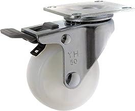 TOOLCRAFT TO-5137875 Zwenkwiel polyamide met rem 50mm met schroefplaat