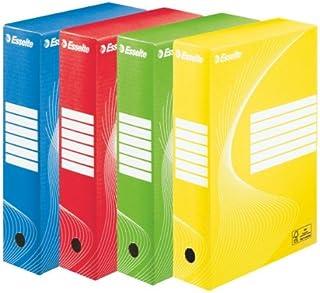 Esselte Vivid 128403 - Carpetas (10 unidades, A4, 80 mm), varios colores