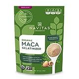 Navitas Organics Maca Gelatinized Powder, 4 oz. Bag, 23 Servings — Organic, Non-GMO, Gluten-Free