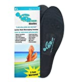 Step Right Insoles Relieves -Plantar Fasciitis- Neuropathy- Poor Circulation- Foot Pain and Heel Spurs (XL Mens 11-13.5)