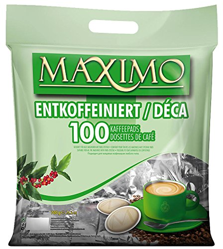 2 x MAXIMO Decaf 100 Kaffeepads (2 x 100 Pads)