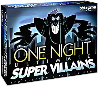 PSI One Night Ultimate Super Villains Board Games