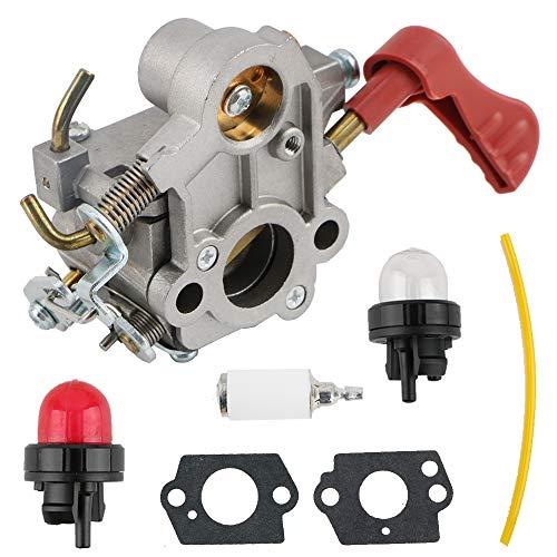 TDPARTS 545189502 Carburetor for Poulan PP133 PP333 Pro Craftsman Gas Trimmer 33cc Carb 545189502, C1M-W44, 545008042 Carburetor