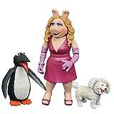 ザ・マペッツ マペッツ セレクト3 ミス・ピギー&フーフー&ペンギン 高さ約5~15センチ プラスチック製 塗装済み アクションフィギュアセット